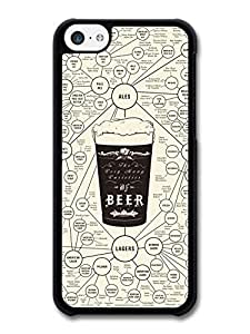 MMZ DIY PHONE CASEBeer Diagram with Ales and Lagers Funny case for iphone 6 plus 5.5 inch