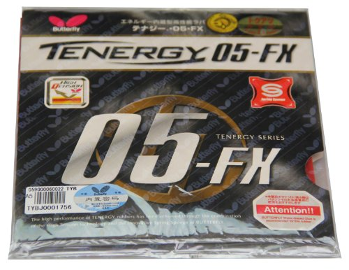 Butterfly Tenergy 05 FX Table Tennis Rubber
