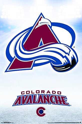 Colorado Avalanche Paper - Trends International Colorado Avalanche-Logo Premium Wall Poster, 22.375