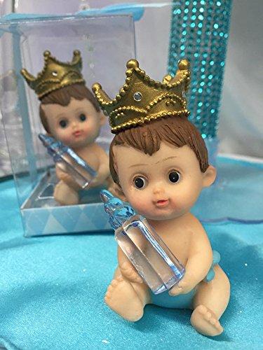Baby Prince Baby Shower Favor Cake Topper Keeepsake Gift (Baby Shower Cake Decoration)