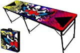 8-Foot Professional Beer Pong Table - Rock On Graphic