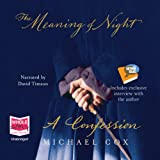 The Meaning of Night by Michael Cox front cover