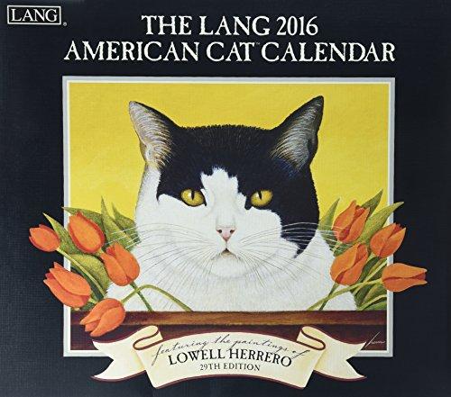 American Cat 2016 Wall Calendar