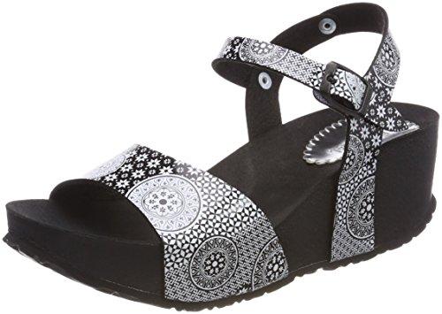 Noir bio7 2000 Sandales Desigual Bride Arrière Femme Shoes Negro Alhambra SCxvw50q