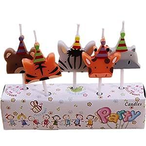 Amazon Raylans Kids Child Birthday Candles Cartoon