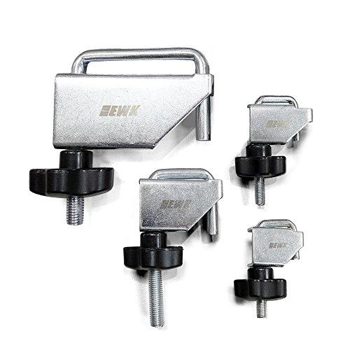 EWK 4pc Fluid Line Clamp Fuel Vacuum Transmission Coolant Hose Brake Clamps Clamper