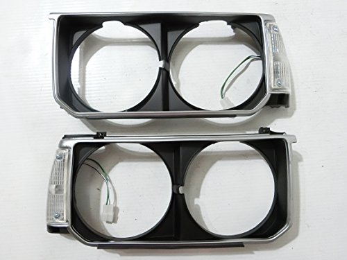 1~Pairs HeadLight Lamp Surround Housing Trim Cover For Corolla KE70 TE71 TE72 ()
