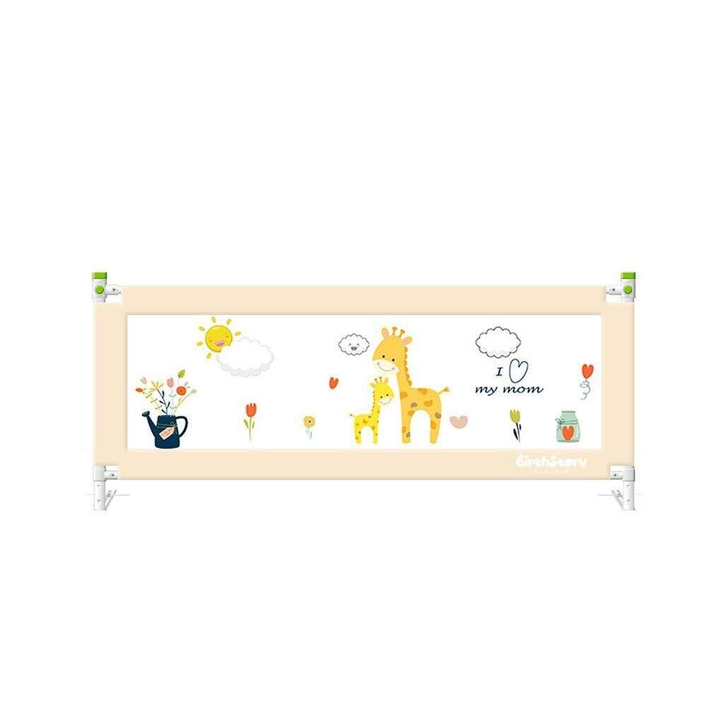 幼児子供落下防止ベッドガードレール垂直リフティングフェンスベビー落下防止ベッドサイドバッフル(片側) (色 : F f, サイズ さいず : 200X80cm) 200X80cm F f B07PJ8K8R6