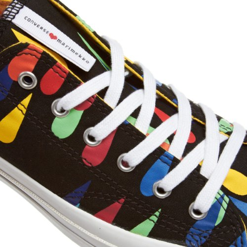 Multi Star Taylor Marimekko Black Top Converse Lo All Chuck vwOqWHP8