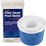 Impresa Products 20-Pack of Pool Skimmer Socks - Perfect Savers for Filters, Baskets, and Skimmers - The Ideal Sock/Net…
