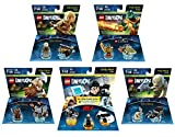 Mission Impossible Ethan Hunt Level Pack + The Lord Of The Rings Legolas + Gimli + Gollum + The Legend Of Chima Cragger Fun Packs - LEGO Dimensions - Not Machine Specific