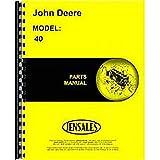 New Parts Manual For John Deere 40 Manure Spreader