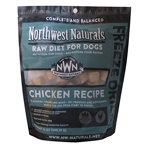 Northwest Naturals Raw Diet Freeze Dried Nuggets - Dinner for Dogs (Chicken) by Northwest Naturals