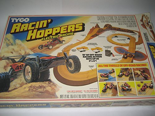 Tyco Racin Hoppers Electric Racing Track