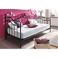 moebel direkt online Day-Bed / Einzelbett / Metallbett Ella