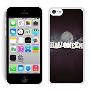 Personalized Design Iphone 5C TPU Rubber Protective Skin Halloween White iPhone 5C Case 19