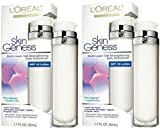 L'Oreal Skin Genesis Daily Moisturizer, SPF 15 Lotion (1.7 fl oz /50 ml) EACH Fragance Free (Qty, Of 2 Bottles) For Sale