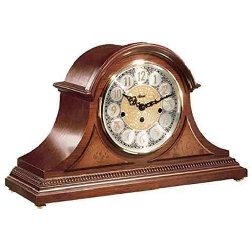 Quartz Mantel Clock by Hermle 21130N9Q | Cherry ()