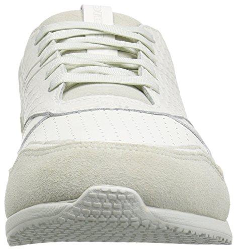Diesel Heren Remmi-v S-flare Sneaker Vies Wit