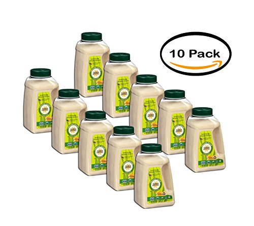 - PACK OF 10 - Florida Crystal's Organic Cane Sugar 48 Oz Shaker