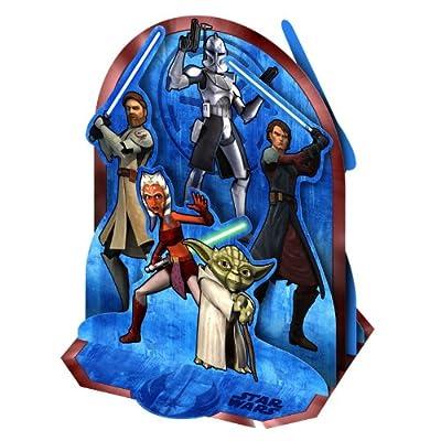 Star Wars 'The Clone Wars' Centerpiece (1ct)