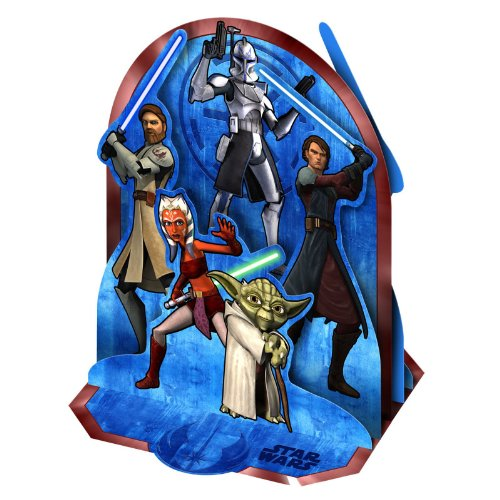 Star Wars 'The Clone Wars' Centerpiece (1ct)]()