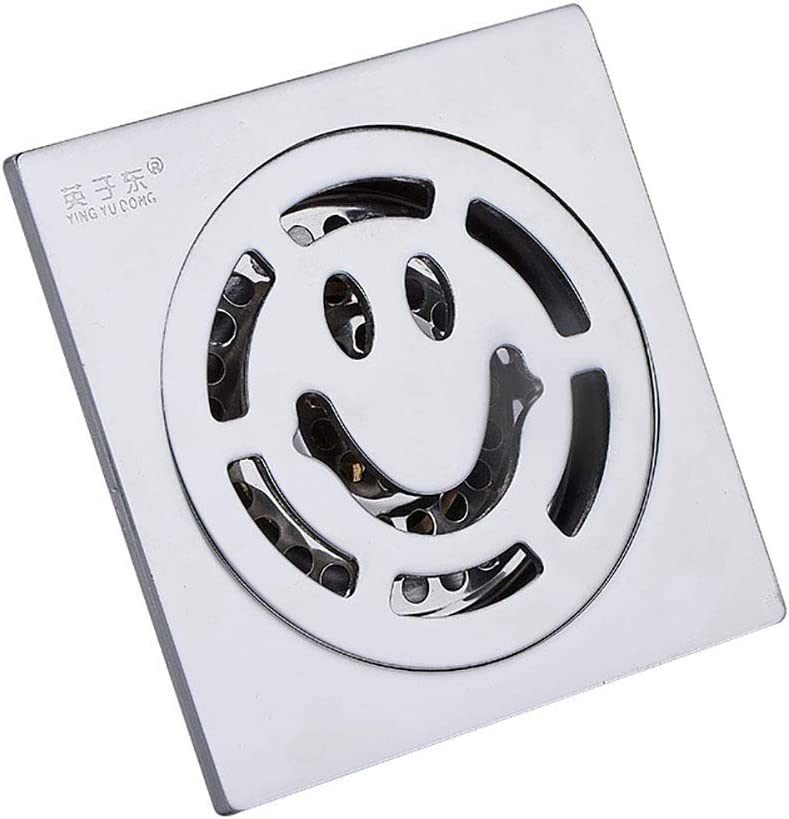 521, tief Balkon K/üche aus Edelstahl 304 10 x 10 cm Voixy Bodenablauf f/ür Badezimmer