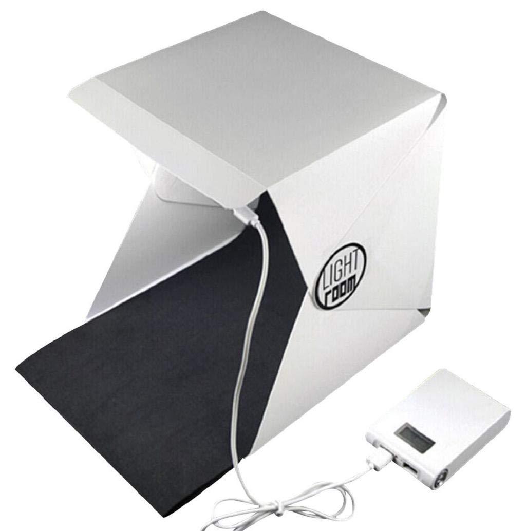 Professional Foldable Shooting Lighting Blingdots Creative Camera with LED Backlight Photography Studio Photography Softbox kit,Portable Photo Studio Box Portable Photography Light Tent