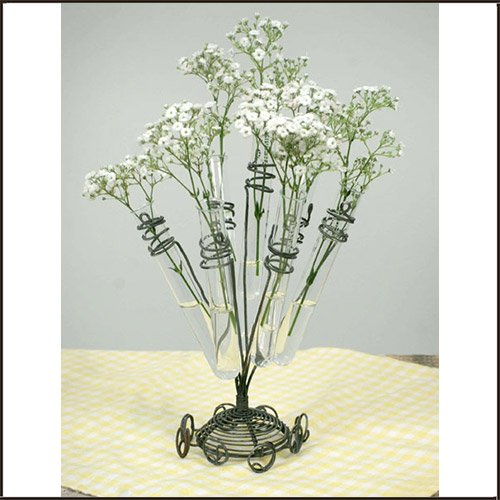 Glass Test Tube Flower Holder from Colonial Tin Works 460005