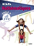 Mathématiques 5e-4e-3e Cycle 4 Delta : livre de l'élève - Grand format - Nouveau programme 2016