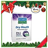#2: SmartMouth Dry Mouth Mints with Smart-Zinc, Moisturizes and Freshens Breath, Sugar Free, 4 pack