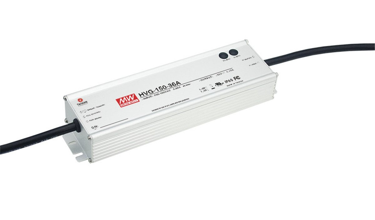 Enclosed Switching Power Supply Outputs Adjustable by Internal Pot 36 Volts 4170mA 150W