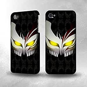 Apple iPhone 5 / 5S Case - The Best 3D Full Wrap iPhone Case - Bleach Hollow Mask