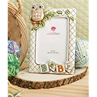 "Baby Owl Picture Frame Vertical (6"" X 8"" Holds a 4"" X 6"" Picture) From Gifts ..."
