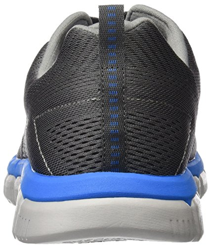 Multisport Shoes Charcoal AU Men 7 Blue Outdoor 52619 Grey Skechers q4OEw