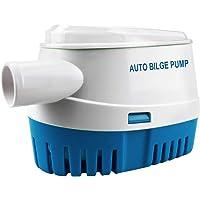 BACOENG Bomba de achique automática 12V 1100GPH/ 70LPM bomba de agua auto sumergible para barcos