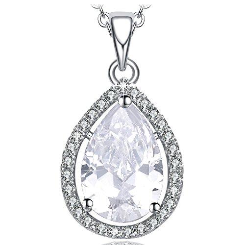 NEEMODA Pendant Necklace for Women Jewelry Gifts for Her Angel Tears (Pendants Zirconia Cubic Angel)