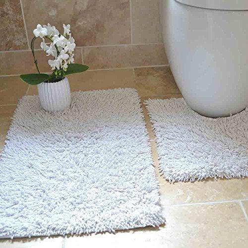 Rapport Quot Tumble Twist Bath And Pedestal Mat Set Cotton