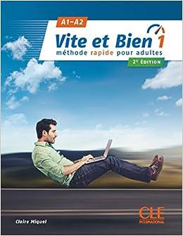 Livre Cd Audio Corriges 1 A1 A2 2e Edition C Miquel