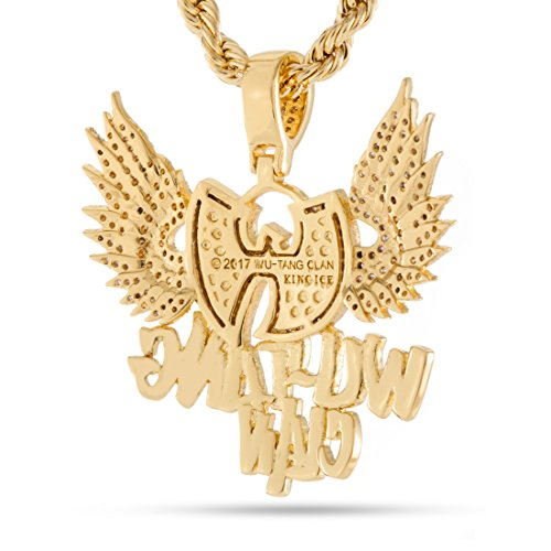 Amazon wu tang clan x king ice the protect ya neck necklace amazon wu tang clan x king ice the protect ya neck necklace 14k gold plated jewelry aloadofball Images