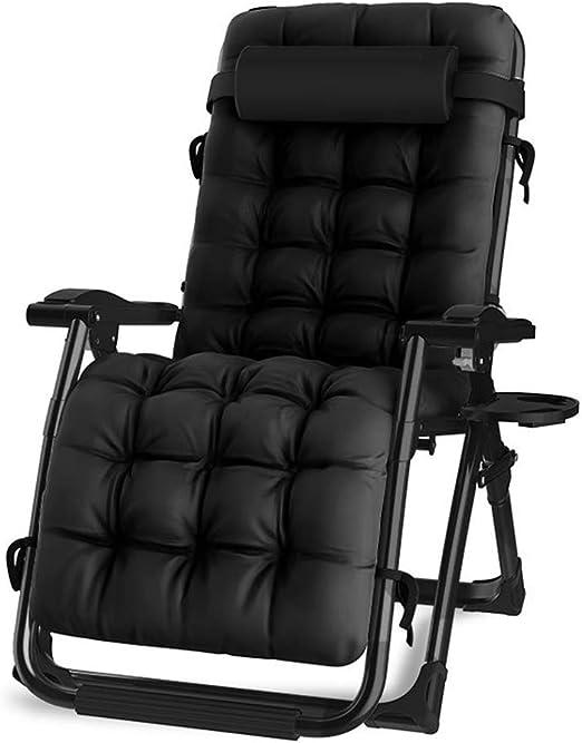 Sillones reclinables para sillas de jardín, sillas plegables para sillas de salón con cojines para sillas blandas, para el hogar, al aire libre, almuerzo en la oficina,B: Amazon.es: Hogar