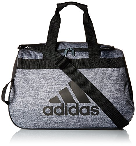 adidas Women's Diablo small duffel Bag, Onix Jersey/Black, One Size