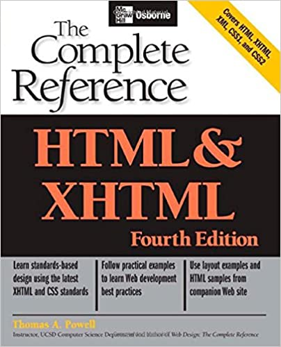 Html xhtml the complete reference osborne complete reference html xhtml the complete reference osborne complete reference series 4th edition fandeluxe Gallery