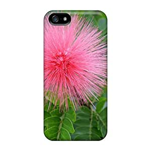 For TnpqHpG4099buUhK Calliandra (flowering Plant) Flowers Protective Case Cover Skin/iphone 5/5s Case Cover by Maris's Diary