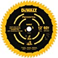 DEWALT DW3216PT Precision Trim 12-Inch 60 Tooth ATB Crosscutting Saw Blade with 1-Inch Arbor and Tough Coat Finish from DEWALT