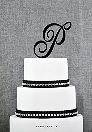 buythrow initial wedding cake topper letter cake topper abc