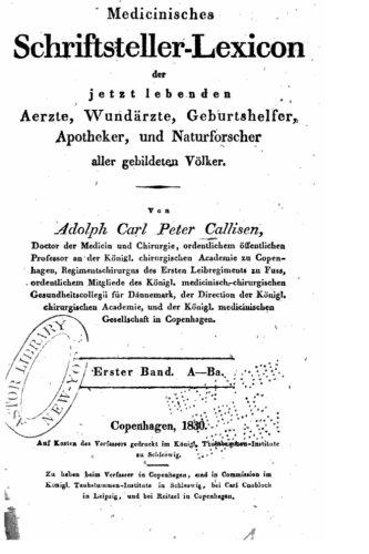 Medicinisches Schriftsteller-Lexicon Der Jetzt Lebenden Aerzte, Wundärzte, Geburtshelfer, Apotheker - Erster Band - A-B (German Edition) ebook