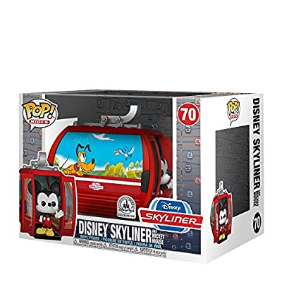Funko Pop! Rides: Disney Skyliner and Mickey Mouse Exclusive Vinyl Figure #70: Toys & Games