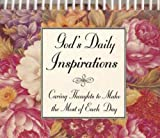 img - for God's Daily Inspirations: Caring Thoughts to Make the Most of Each Day book / textbook / text book