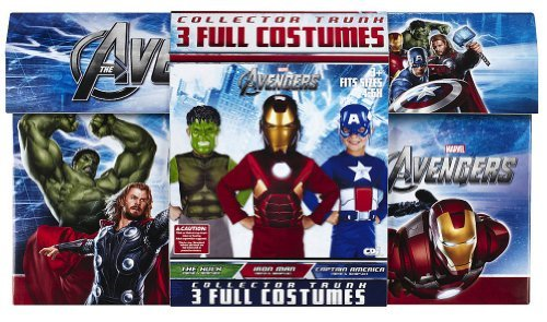 Marvel's Avengers Animated Multi Dress Up Trunk (Boys Costume Trunk)